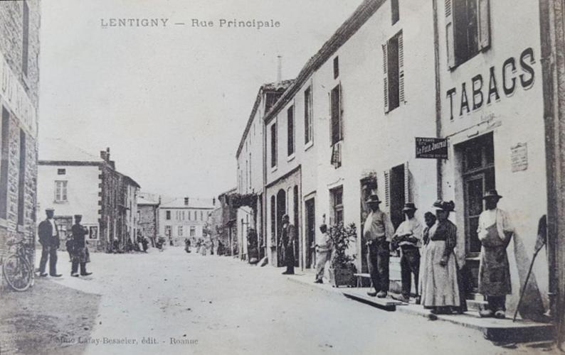 Le bourg vers 1900