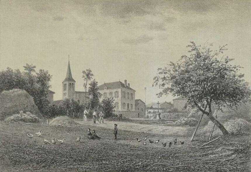 Lentigny 1881 litho noirot